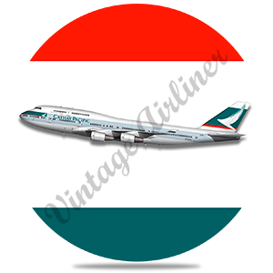 Cathay Pacific 747 Round Coaster