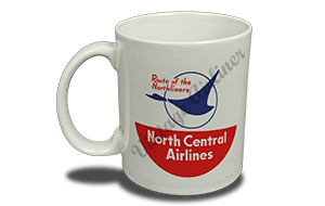 North Central Airlines Last Logo 11 oz. Coffee Mug