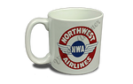 Northwest Airlines Vintage 1930's Bag Sticker 20 oz. Coffee Mug
