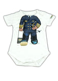 Add A Kid Infant Male Pilot Onesie
