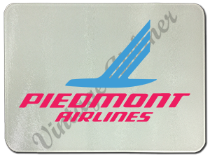 Piedmont Airlines Logo Glass Cutting Board