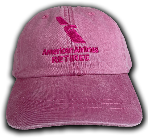 American Airlines 2013 Logo Retiree Pink Cap
