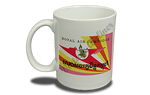 Royal Air Cambodge Vintage Bag Sticker 11 oz. Coffee Mug