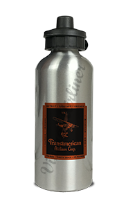 TransAmerican Airlines Corporation Vintage Bag Sticker Aluminum Water Bottle