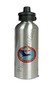 Trans Caribbean Airways Logo Aluminum Water Bottle