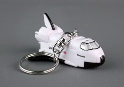 Space Shuttle Keychain W/Light & Sound Discovery