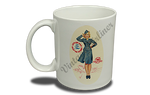 TWA Petty Girl 11 oz. Coffee Mug