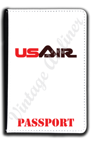 US Air First Logo Passport Case