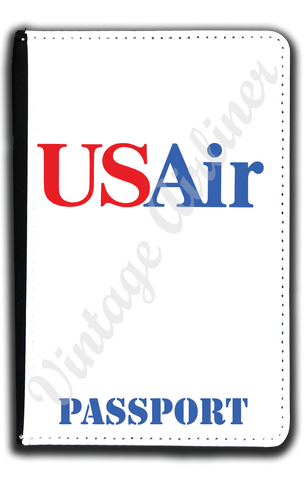 US Air Last Logo Passport Case