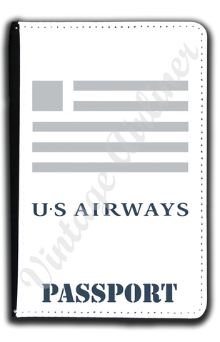 US Airways Logo Passport Case