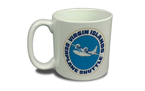 Virgin Island Seaplane Shuttle 20 oz. Coffee Mug