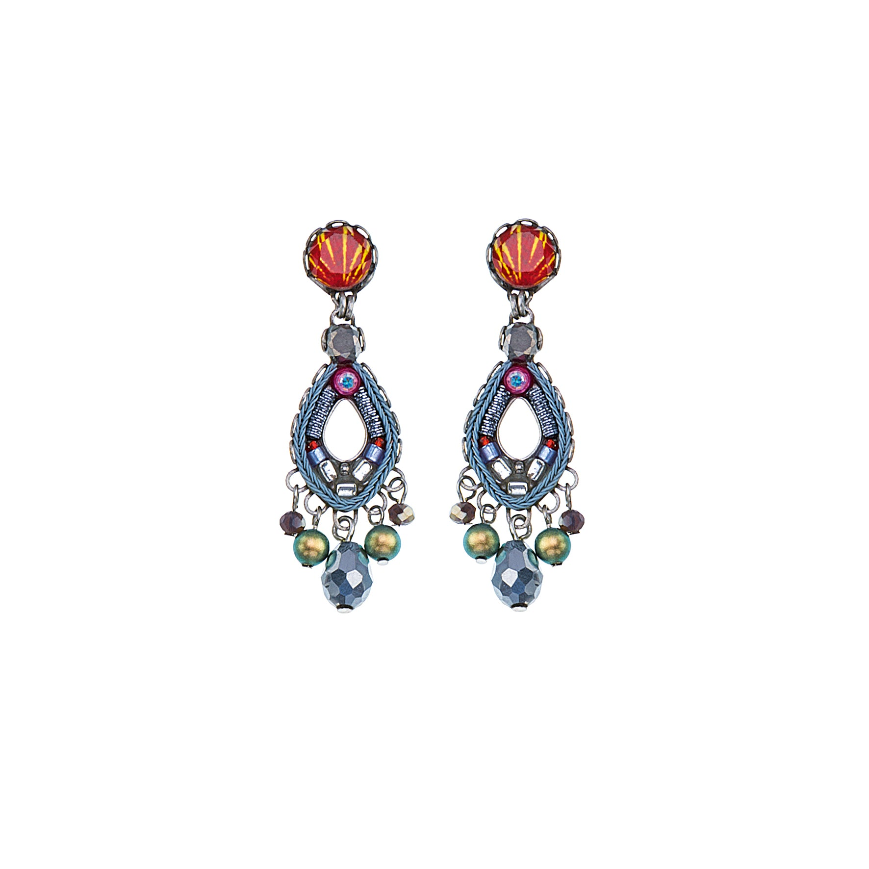 AYALABAR - CORAL REEF - MADISON EARRINGS