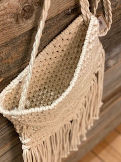 Macrame Cross Body Bag