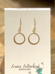 LOUSIA LABARBERA JEWELLRY - Hammered hoops