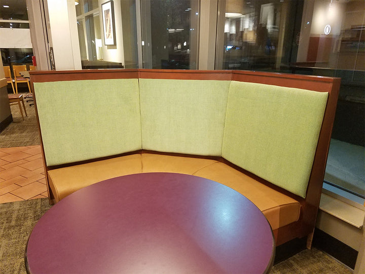 restaurant booth seat