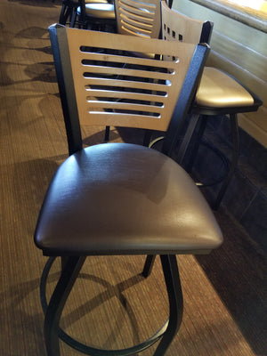 Raised Round Bar Stool Side Chair Replacement Seat Covers