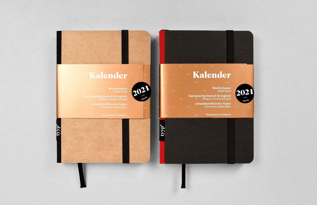 kalender 2019 softcover DIN A6 tyyp