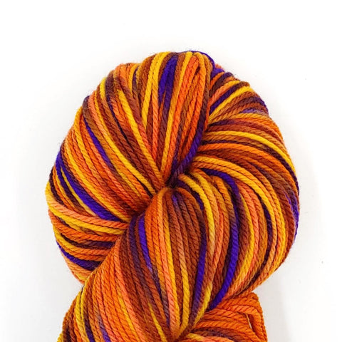 Kente Spirit colorway; Dakota Yarn<br>Worsted Weight<br>Targhee 100