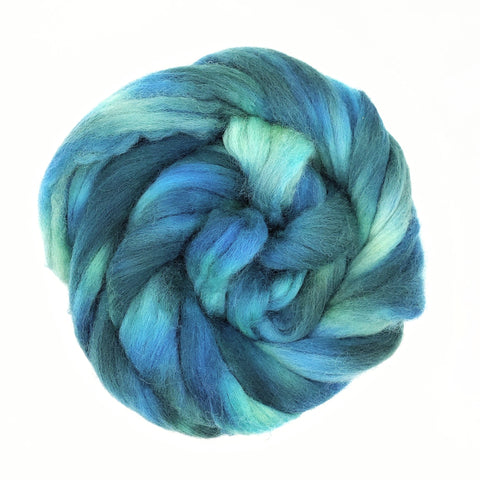 The Gorge Colorway;<br>Corriedale 100 Fiber
