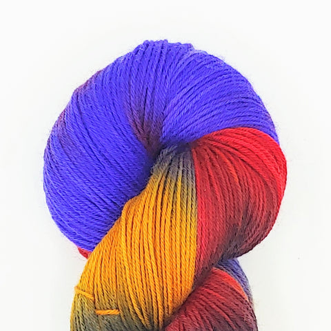 AOC Colorway; <br>Good Ole Sock;<br>Sock Weight Yarn;<br>SW Merino-Nylon 75-25