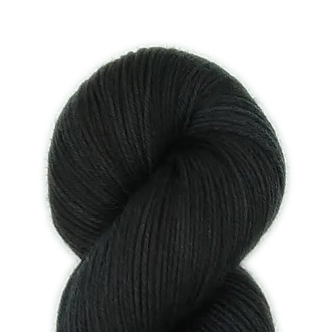 Black Color;<br>SuperSock+;<br>Sock Weight Yarn;<br>SW Merino-Nylon