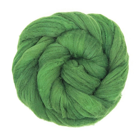 Clover Color;<br>Mixed Merino-Silk Fiber