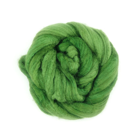 Clover Color;<br> BFL-Silk 75-25 Fiber