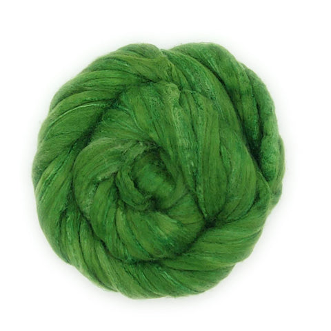 Clover Colorway; <br> Polwarth-Silk Fiber