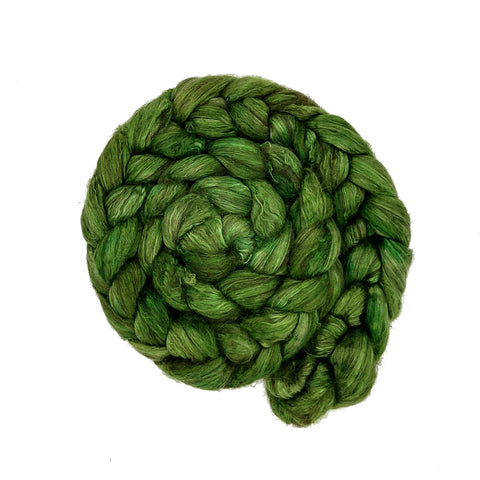 Clover Color; <br> Yak-Silk 50-50 Fiber