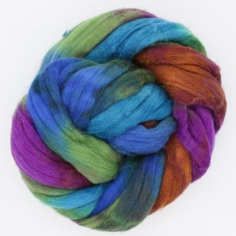 Deschutes <br>Mixed Merino-Silk Fiber