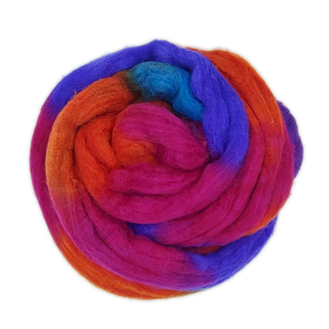 Endless Summer <br>Mixed Merino-Silk Fiber