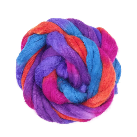 Endless Summer  <br> Polwarth-Silk Fiber