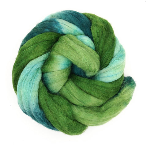Envy Colorway;<br>Merino-Silk 50-50 Fiber