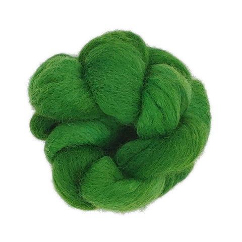 Green <br>Organic Merino 100 Fiber<br>Breed Bit