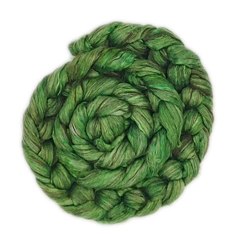 Green <br>Yak-Silk Fiber