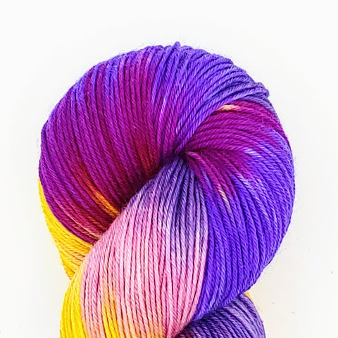 Harry & Daisy Colorway; <br>Good Ole Sock;<br>Sock Weight Yarn;<br>SW Merino-Nylon 75-25