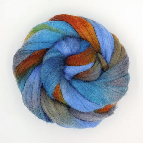 High Desert Colorway;<br>Corriedale 100 Fiber