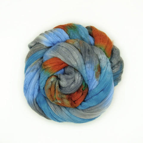 High Desert Colorway;<br>Merino-Silk 50-50 Fiber