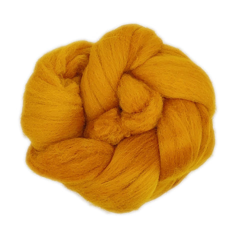 Honey Mustard <br>Rambouillet Fiber<br>Breed Bit