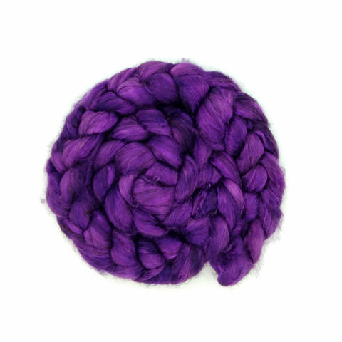 Huckleberry Color;<br>Yak-Silk Fiber