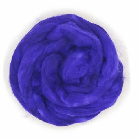 Hyacinth Color;<br>Mixed Merino-Silk Fiber