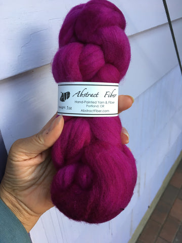 Orchid Color;<br>Targhee 100 Fiber;<br>One Ounce Breed Bit