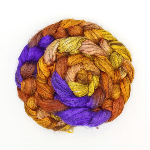 Kente Spirit Colorway;<br>Yak-Silk Fiber