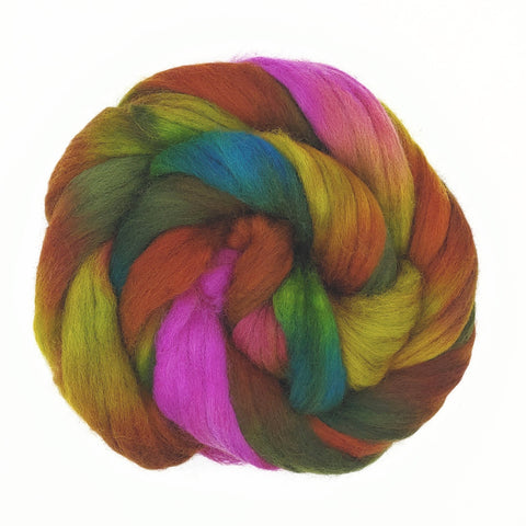 Laurelhurst Colorway;<br>Corriedale 100 Fiber