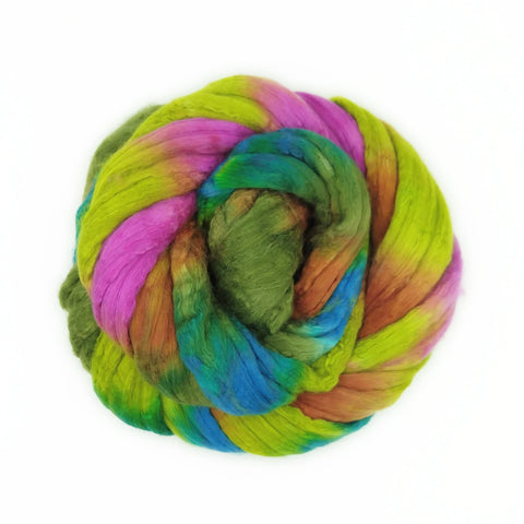 Laurelhurst Colorway;<br>Merino-Silk 50-50 Fiber