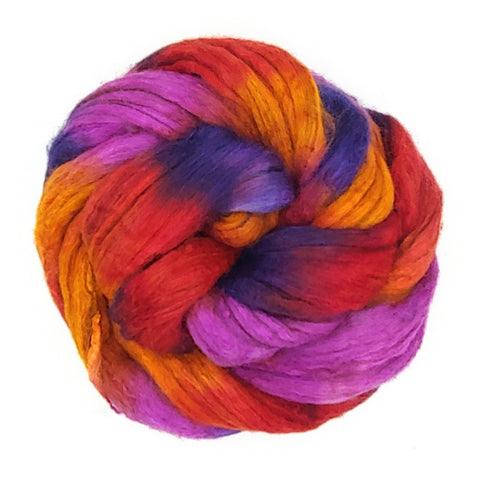 Madrigal Colorway;<br>Merino-Yak-Silk Fiber