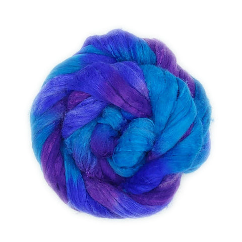Merlin Colorway;<br>Polwarth-Silk Fiber