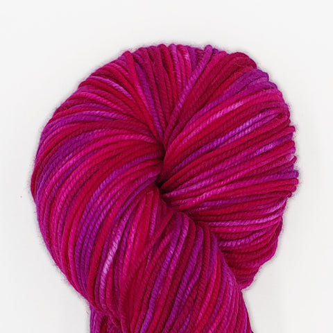 Mt Hood Rose Colorway; <br>Tahoma Yarn;<br>DK-Weight;<br>100 % SW Merino