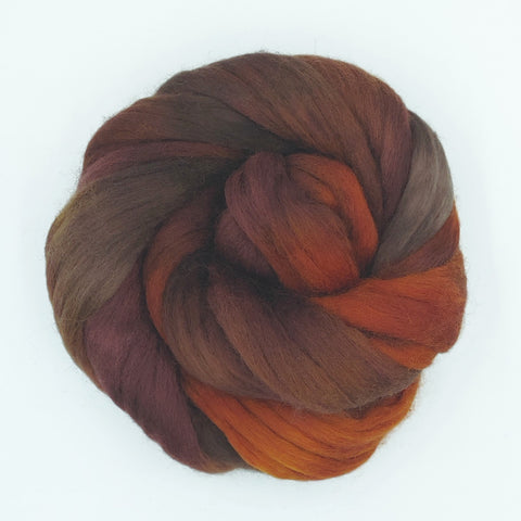 Mousse Colorway;<br>Corriedale 100 Fiber