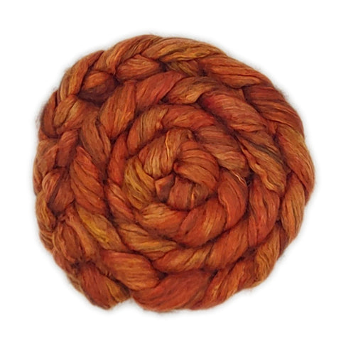 Orange <br>Yak-Silk Fiber